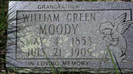 MOODY, WILLIAM GREEN - Sharp County, Arkansas | WILLIAM GREEN MOODY - Arkansas Gravestone Photos