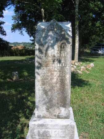 MORE, G. W. - Sharp County, Arkansas | G. W. MORE - Arkansas Gravestone Photos