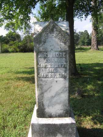 MORE, N. E. - Sharp County, Arkansas | N. E. MORE - Arkansas Gravestone Photos