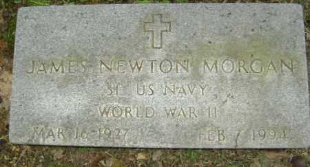 MORGAN (VETERAN WWII), JAMES NEWTON - Sharp County, Arkansas | JAMES NEWTON MORGAN (VETERAN WWII) - Arkansas Gravestone Photos