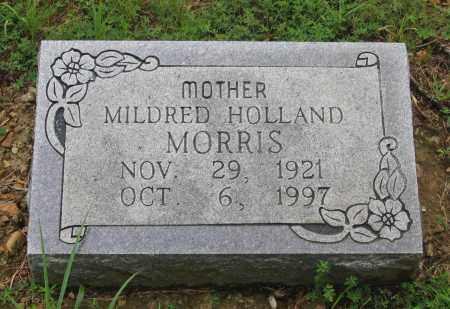 HOLLAND MORRIS, MILDRED - Sharp County, Arkansas   MILDRED HOLLAND MORRIS - Arkansas Gravestone Photos