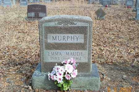 RITCHIE MURPHY, EMMA MAUD - Sharp County, Arkansas | EMMA MAUD RITCHIE MURPHY - Arkansas Gravestone Photos