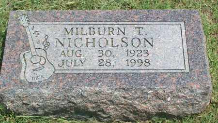 NICHOLSON, MILBURN TAYLOR - Sharp County, Arkansas | MILBURN TAYLOR NICHOLSON - Arkansas Gravestone Photos
