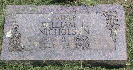 NICHOLSON, WILLIAM CHRISTOPHER - Sharp County, Arkansas | WILLIAM CHRISTOPHER NICHOLSON - Arkansas Gravestone Photos
