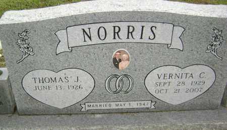 NORRIS, VERNITA C - Sharp County, Arkansas | VERNITA C NORRIS - Arkansas Gravestone Photos