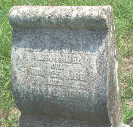 PADEN, EMMA E. - Sharp County, Arkansas | EMMA E. PADEN - Arkansas Gravestone Photos