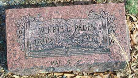 PADEN, WINNIE E. - Sharp County, Arkansas | WINNIE E. PADEN - Arkansas Gravestone Photos