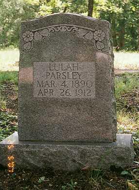 PARSLEY, LULAH - Sharp County, Arkansas   LULAH PARSLEY - Arkansas Gravestone Photos