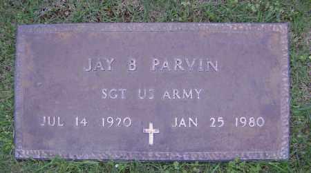 PARVIN (VETERAN), JAY B - Sharp County, Arkansas | JAY B PARVIN (VETERAN) - Arkansas Gravestone Photos