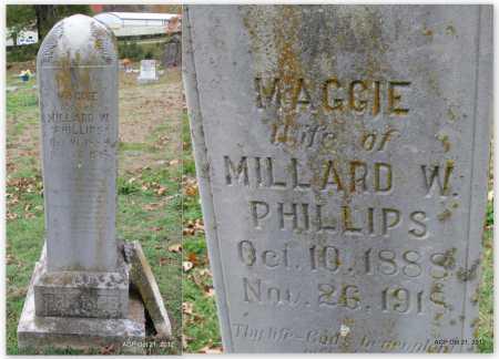 PHILLIPS, MAGGIE - Sharp County, Arkansas   MAGGIE PHILLIPS - Arkansas Gravestone Photos