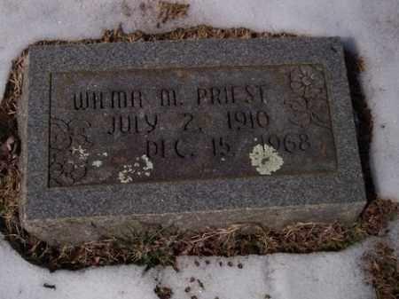 PRIEST, WILMA MAYE - Sharp County, Arkansas | WILMA MAYE PRIEST - Arkansas Gravestone Photos