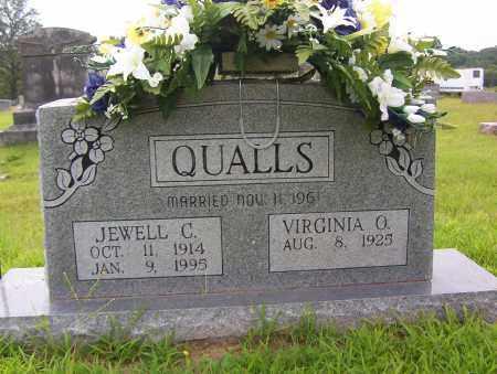 QUALLS, JEWELL C. - Sharp County, Arkansas | JEWELL C. QUALLS - Arkansas Gravestone Photos