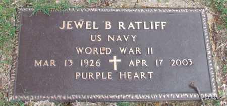 RATLIFF (VETERAN WWII), JEWEL B - Sharp County, Arkansas | JEWEL B RATLIFF (VETERAN WWII) - Arkansas Gravestone Photos