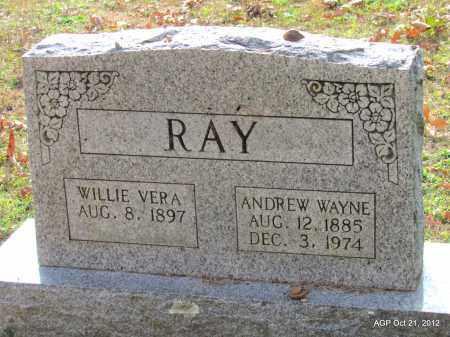 YATES RAY, WILLIE VERA - Sharp County, Arkansas   WILLIE VERA YATES RAY - Arkansas Gravestone Photos
