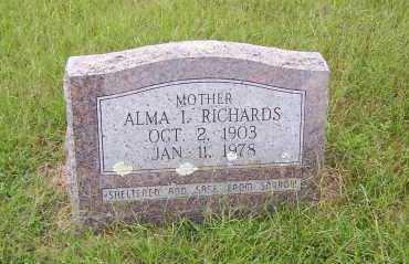JOHNSON, ALMA I. - Sharp County, Arkansas | ALMA I. JOHNSON - Arkansas Gravestone Photos
