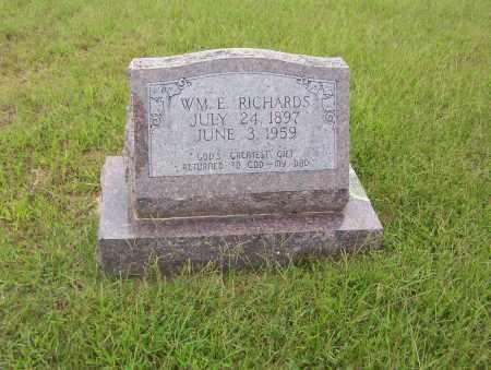 RICHARDS, WILLIAM.E. - Sharp County, Arkansas   WILLIAM.E. RICHARDS - Arkansas Gravestone Photos