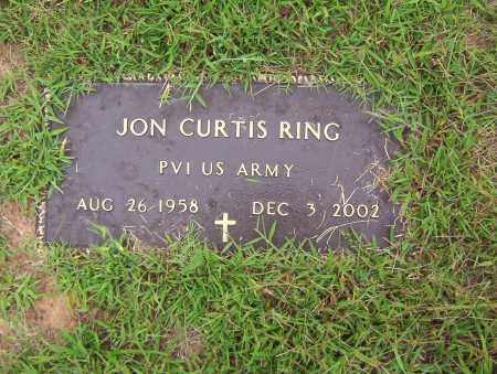 RING (VETERAN), JON CURTIS - Sharp County, Arkansas | JON CURTIS RING (VETERAN) - Arkansas Gravestone Photos