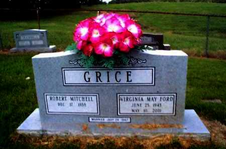 GRICE, VIRGINIA MAY - Sharp County, Arkansas | VIRGINIA MAY GRICE - Arkansas Gravestone Photos