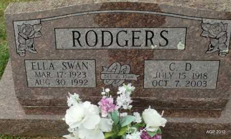 "RODGERS, CHARLES D. ""C D"" - Sharp County, Arkansas | CHARLES D. ""C D"" RODGERS - Arkansas Gravestone Photos"