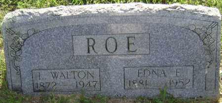 ROE, EDNA EFFIE - Sharp County, Arkansas | EDNA EFFIE ROE - Arkansas Gravestone Photos