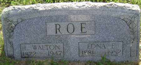 ROE, LEWIS WALTON - Sharp County, Arkansas | LEWIS WALTON ROE - Arkansas Gravestone Photos