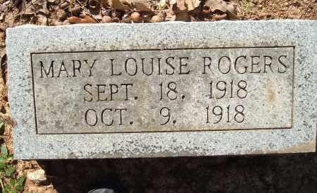 ROGERS, MARY LOUISE - Sharp County, Arkansas   MARY LOUISE ROGERS - Arkansas Gravestone Photos