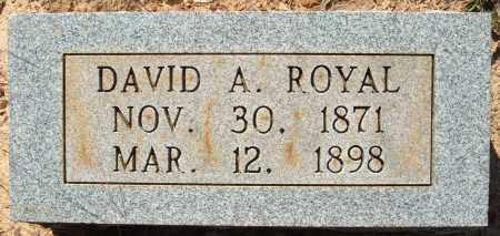 ROYAL, DAVID A. - Sharp County, Arkansas   DAVID A. ROYAL - Arkansas Gravestone Photos