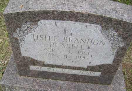 BRANDON, TISHIE - Sharp County, Arkansas | TISHIE BRANDON - Arkansas Gravestone Photos