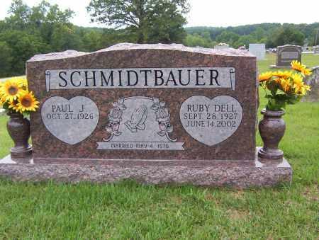SCHMIDTBAUER, PAUL JOHN - Sharp County, Arkansas | PAUL JOHN SCHMIDTBAUER - Arkansas Gravestone Photos