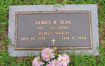 SEAL (VETERAN WWII), JAMES RALPH - Sharp County, Arkansas   JAMES RALPH SEAL (VETERAN WWII) - Arkansas Gravestone Photos