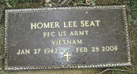SEAT (VETERAN VIET), HOMER LEE - Sharp County, Arkansas   HOMER LEE SEAT (VETERAN VIET) - Arkansas Gravestone Photos