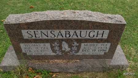 SENSABAUGH, THOMAS R - Sharp County, Arkansas | THOMAS R SENSABAUGH - Arkansas Gravestone Photos