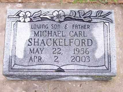 SHACKELFORD, MICHAEL CARL - Sharp County, Arkansas   MICHAEL CARL SHACKELFORD - Arkansas Gravestone Photos