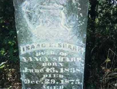 SHARP, ISAAC E. - Sharp County, Arkansas | ISAAC E. SHARP - Arkansas Gravestone Photos