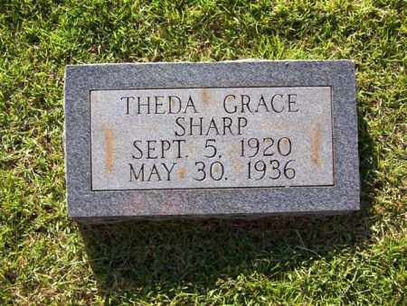 SHARP, THEDA GRACE - Sharp County, Arkansas   THEDA GRACE SHARP - Arkansas Gravestone Photos