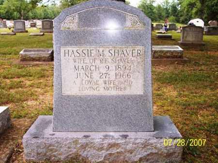 SHAVER, HASSIE M. - Sharp County, Arkansas | HASSIE M. SHAVER - Arkansas Gravestone Photos