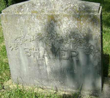 SHAVER, MARY J. - Sharp County, Arkansas | MARY J. SHAVER - Arkansas Gravestone Photos