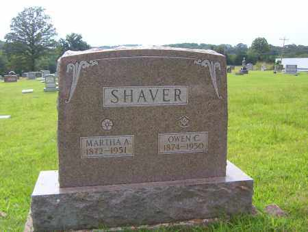 SHAVER, OWEN C. - Sharp County, Arkansas | OWEN C. SHAVER - Arkansas Gravestone Photos