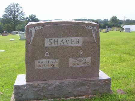 SHAVER, MARTHA A. - Sharp County, Arkansas | MARTHA A. SHAVER - Arkansas Gravestone Photos