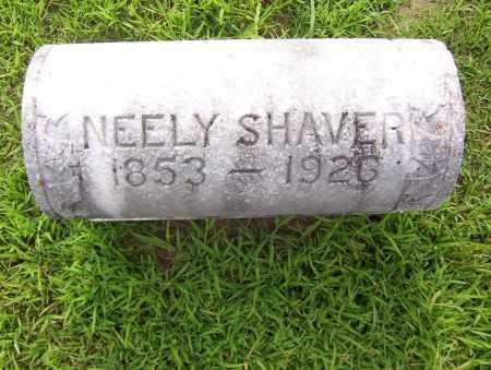 SHAVER, NEELY - Sharp County, Arkansas | NEELY SHAVER - Arkansas Gravestone Photos