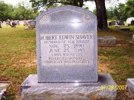 SHAVER, ROBERT EDWIN - Sharp County, Arkansas | ROBERT EDWIN SHAVER - Arkansas Gravestone Photos