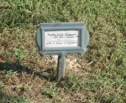 EZELL SHEPPARD, MARTHA - Sharp County, Arkansas | MARTHA EZELL SHEPPARD - Arkansas Gravestone Photos