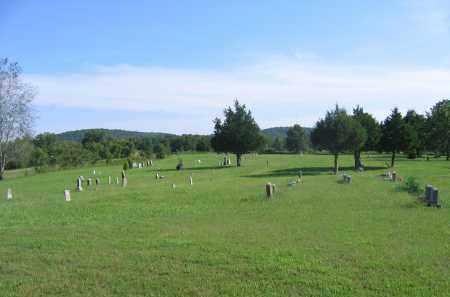 *SHILOH CEMETERY, OVERVIEW - Sharp County, Arkansas | OVERVIEW *SHILOH CEMETERY - Arkansas Gravestone Photos