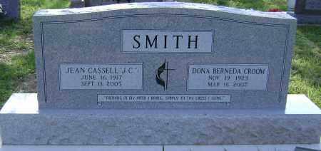 CROOM SMITH, DONA - Sharp County, Arkansas | DONA CROOM SMITH - Arkansas Gravestone Photos