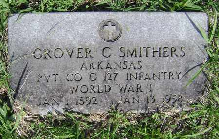 SMITHERS (VETERAN WWI), GROVER C - Sharp County, Arkansas | GROVER C SMITHERS (VETERAN WWI) - Arkansas Gravestone Photos