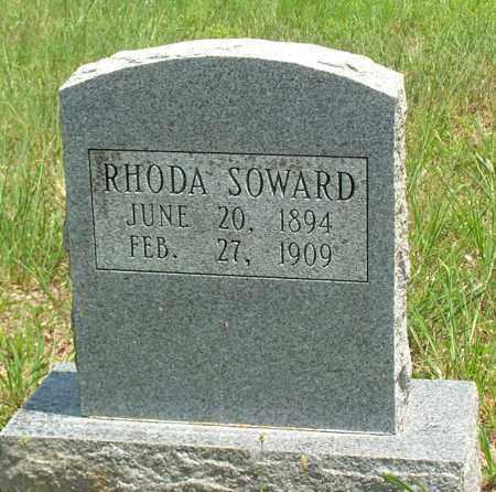 SOWARD, RHODA - Sharp County, Arkansas | RHODA SOWARD - Arkansas Gravestone Photos