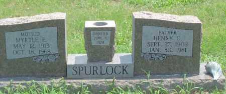 SPURLOCK, HENRY CLAYTON - Sharp County, Arkansas | HENRY CLAYTON SPURLOCK - Arkansas Gravestone Photos