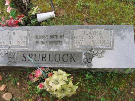 DARNELL SPURLOCK, OLATHA - Sharp County, Arkansas | OLATHA DARNELL SPURLOCK - Arkansas Gravestone Photos