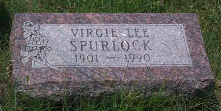 SPURLOCK, VIRGIE LEE - Sharp County, Arkansas | VIRGIE LEE SPURLOCK - Arkansas Gravestone Photos
