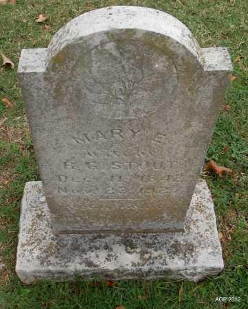 STOUT, MARY ELIZABETH - Sharp County, Arkansas   MARY ELIZABETH STOUT - Arkansas Gravestone Photos